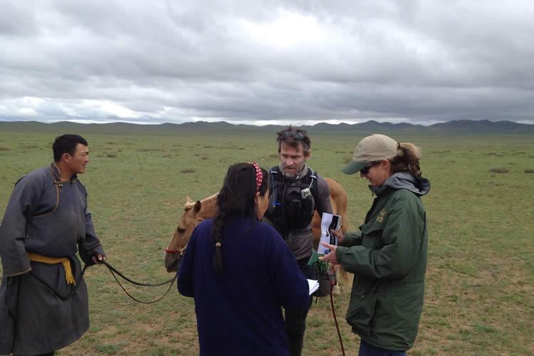 Race Across the Steppe